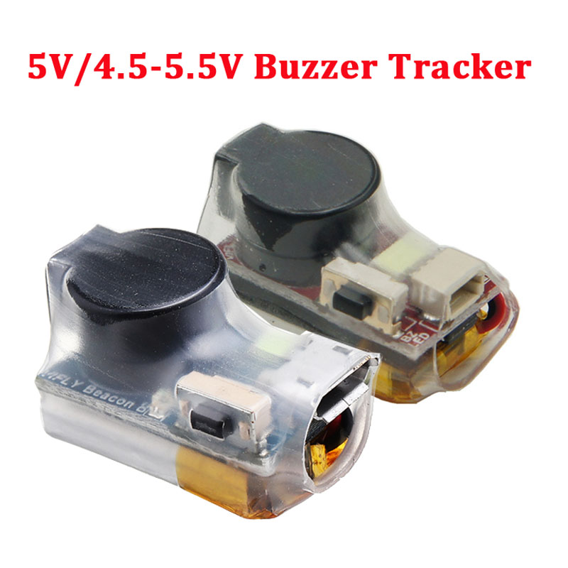 Vifly Finder 5V / 4.5-5.5V Super Loud Buzzer Tracker Over 100dB Built-in Battery For Flight Controller RC Drone Model Part Accs