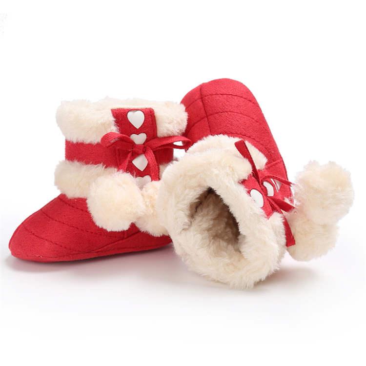0-2 anos recém-nascidos da criança sapatos de