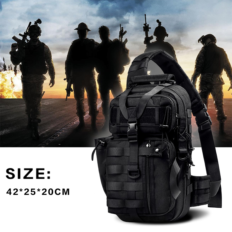 WAR GROUND Military Tactical Backpack Sports Shoulder Bag Outdoor Camping Hunting Hiking Male Daypack Fishing Military Bags