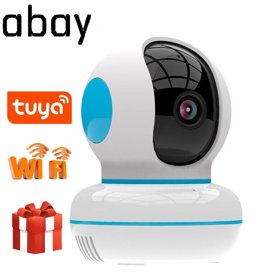 Abay 1080P IP Tuya Camera New Design Home Security Surveillance Cloud Wireless Network Wifi CCTV Baby Monitor Two Way Audio