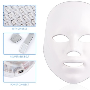 Image 4 - 7 Color Light Photon Therapy LED Facial Mask Skin Rejuvenation Anti Wrinkle Acne Removal Face Lifting Massager Beauty Spa Device