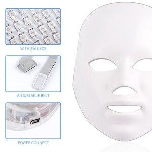 Image 4 - 7 สีแสงPhoton Therapy LEDหน้ากากใบหน้าฟื้นฟูผิวต่อต้านริ้วรอยกำจัดสิวLifting Massagerสปาความงามอุปกรณ์