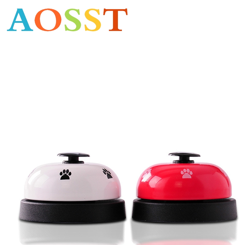 Classic Children's Toy Training Bell New Outdoor Training Knock Generator Toy Dog Rings The Bell Pet Footprints Bell Ding Dong