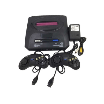 New 16 bit Retro Video Game Console  with Wired Gamepad  Support Game Card Home Game Console For MD Sega Family Game EU plug 10pcs for sega mega drive 112 in 1 game card cartridge 16 bit md game card for sega genesis freeshipping