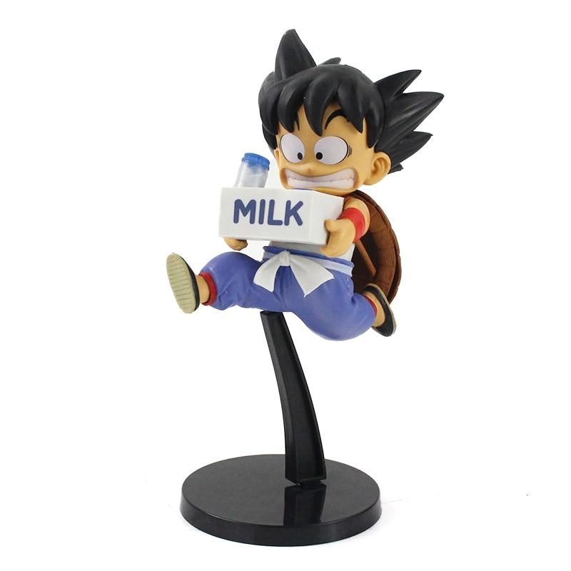 Banpresto Dragon Ball Z WFC World Figure Colosseum 7 Youth Goku Milk Delivery