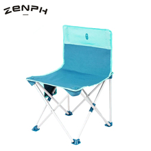 Zenph Quality Outdoor Foldable Fishing Chair BBQ Folding Stool Aluminum Alloy Ultra Light Portable Picnic Camping