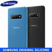 SAMSUNG S10 Custodia Originale In Silicone Made in Vietnam versione di Samsung Galaxy S8 S9 S10 Più Nota 8 9 10 10 + S10 5G S10e Della Copertura Della Cassa