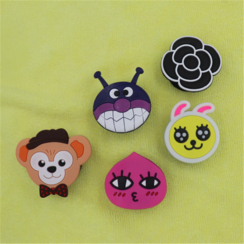 Universal  Mobile Phone Balloon Bracket Retractable Cartoon Silicone Day Korean Female Models Cute Personality Drop Phone Stand