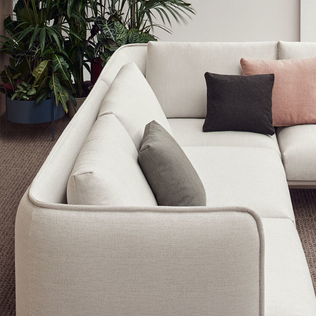 Nordic Fabric Living Room Sofa 3