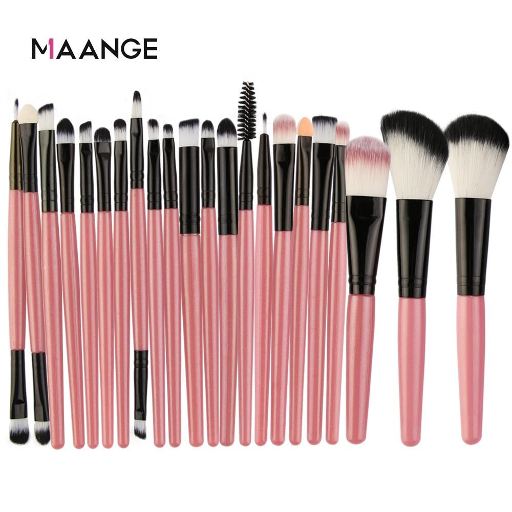 Maange 22PCS Set di pennelli per trucco degli occhi strumenti di bellezza fondotinta transfrontaliera ombretto in polvere cosmetici strumenti di bellezza Maquiagem