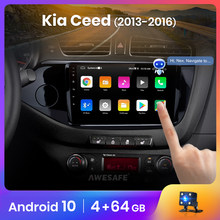 AWESAFE PX9 para KIA Cee 'd CEED JD 2012-2016 Radio Multimedia reproductor de video GPS No 2din 2 din Android 10,0 2GB + 32GB