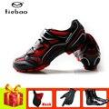TIEBAO велосипедная обувь sapatilha ciclismo mtb маска дышащие самозакрывающиеся зимние велосипедные перчатки Уличная обувь для езды на велосипеде