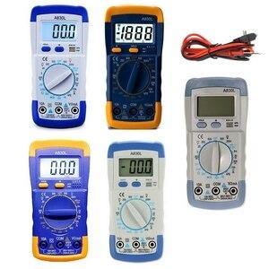 Image 5 - A830L Mini Multimeter Lcd Digitale Multimetro Volt Amp Ohm Tester Meter Voltmeter Amperemeter Backlight Beschermen Met Probe