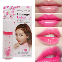 Buy Liquid Lipstick Waterproof Long Lasting Color Changing Clear Lip Gloss Tint Makeup Transparent Flower Jelly Lipstick Lipgloss directly from merchant!