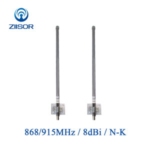 Image 1 - 868MHz 915MHz חיצוני Omni אנטנת בסיס תחנת תעשייתי נתב Dual Band פיברגלס Antena גבוהה רווח N נקבה Z161 G900NK60