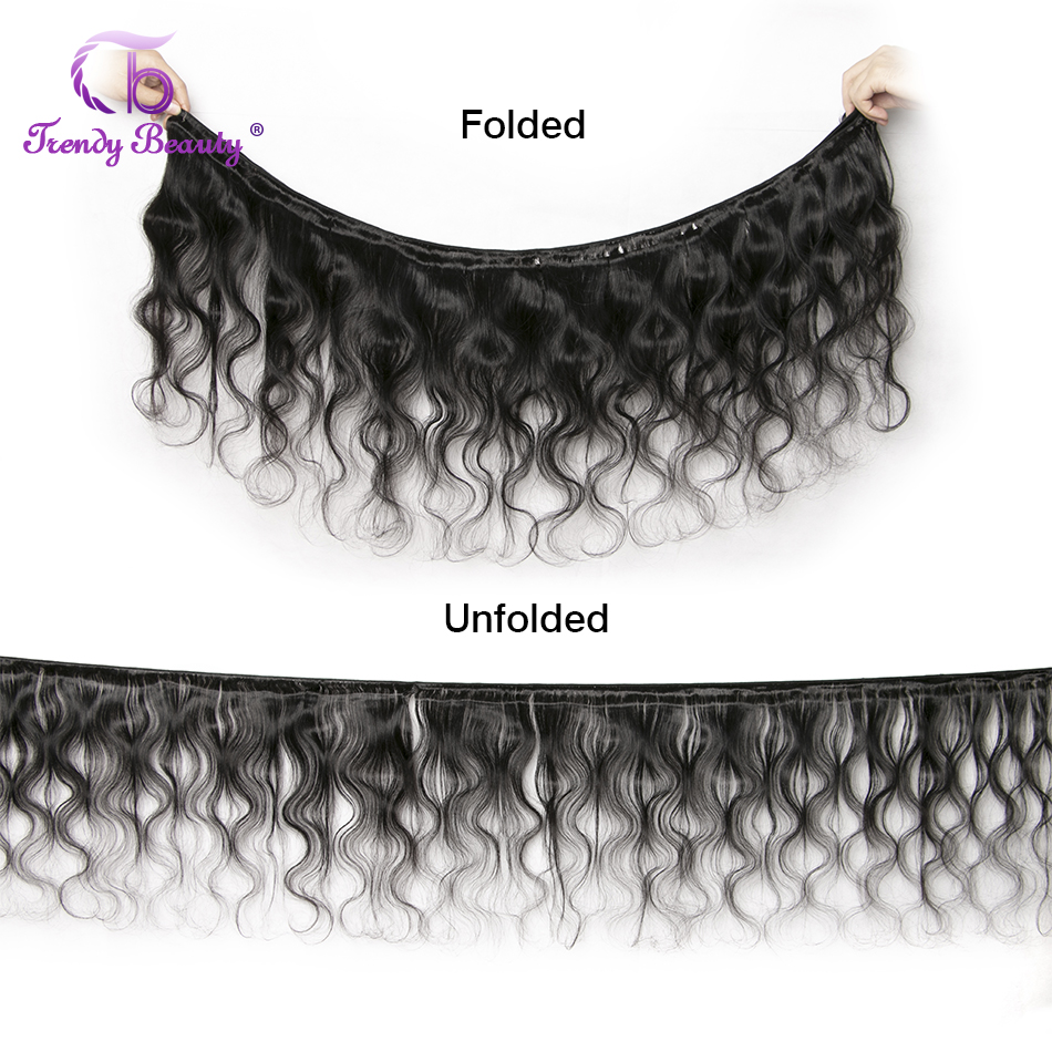 Body Wave Hair 100%  Bundles 8-30 Inches Double Weft  Can Buy 3/4 Pcs Non- Trendy Beauty 3