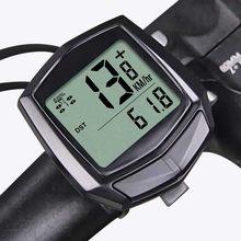 1 pçs à prova dwired água com fio digital bicicleta passeio velocímetro odômetro bicicleta ciclismo velocidade contador código tabela acessórios