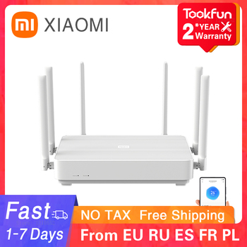 New 2020 Xiaomi Redmi AX6 Wireless Router 2976 Mbps Mesh WIFI 6 2.4G / 5G Dual-Frequency 512MB OFDMA 6 Antennas Repeater PPPOE 1