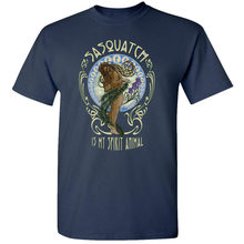 Sasquatch Spirit Animal T-Shirt Funny Bigfoot Hippie Art Deadhead Party New Age Digital Printed Tee Shirt(China)