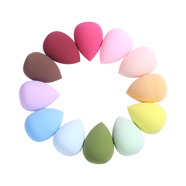 1Pc Cosmetic Puff Powder Smooth Women's Makeup Foundation Sponge Beauty Make Up Tools & Accessories Water Drop Blending Shape 2