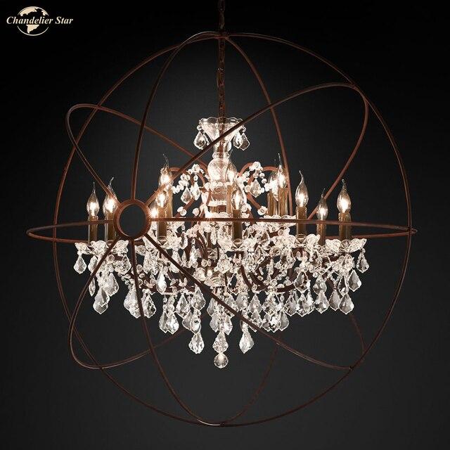 Фото классические светодиодные люстры светильник в американском стиле