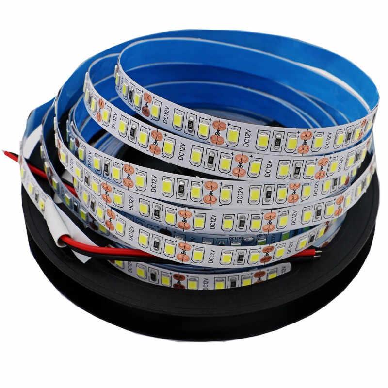 Led Strip 2835/5050 SMD DC 12V 60Led/M 10M 5M 4M 3M 2M 1M waterdichte Led Strip flexibele tape lamp tira Led fita led rgb