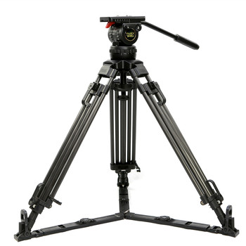 """TRIX 66"""" TX-V12L PLUS Pro Video Camera Tripod Kit Professional Tripod w/ Fluid Head 12KG Aluminum FOR TILTA Rig Red ARRI"""