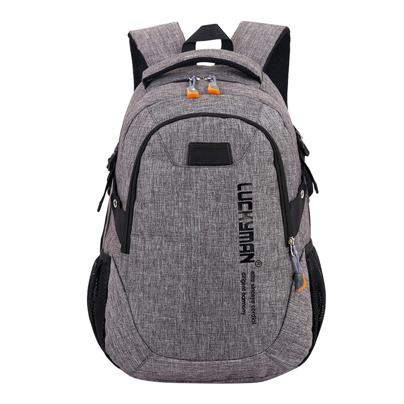 Fashion Waterproof Backpack Canvas Travel Bag Unisex Sac A Dos Laptop Bag Student Bag Mochila Masculina