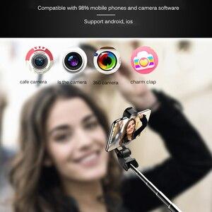 Image 3 - NEW Retractable Handheld Tripod Selfie Stick Bluetooth Extendable Monopod Selfie Stick Tripod for iPhone Samsung HuaWei XiaoMi