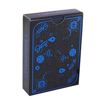 Cartoon PVC magiczne pudełko zapakowane w plastikową talia kart do gry Deck Poker klasyczne sztuczki magiczne sztuczki narzędziowe gra w karty tanie i dobre opinie CN (pochodzenie) 18 miesięcy 0-30 minut Primary Playing Cards Normalne Papier Charakter pokrywa karty 130g