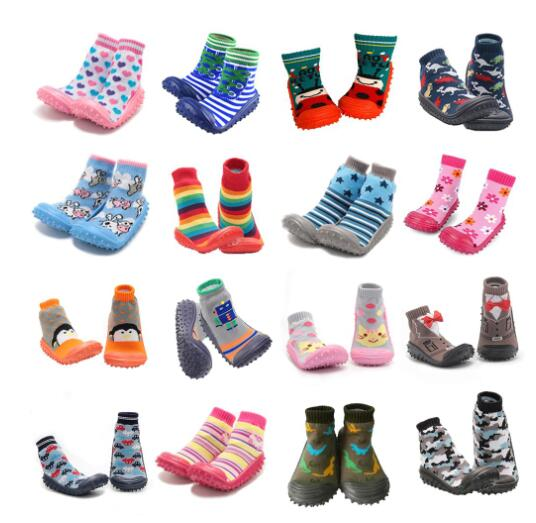Clearance Sale Children Socks Soft Bottom Non-slip Floor Girl Boy Newborn Child Shoes Socks With Rubber Soles Children Baby Sock