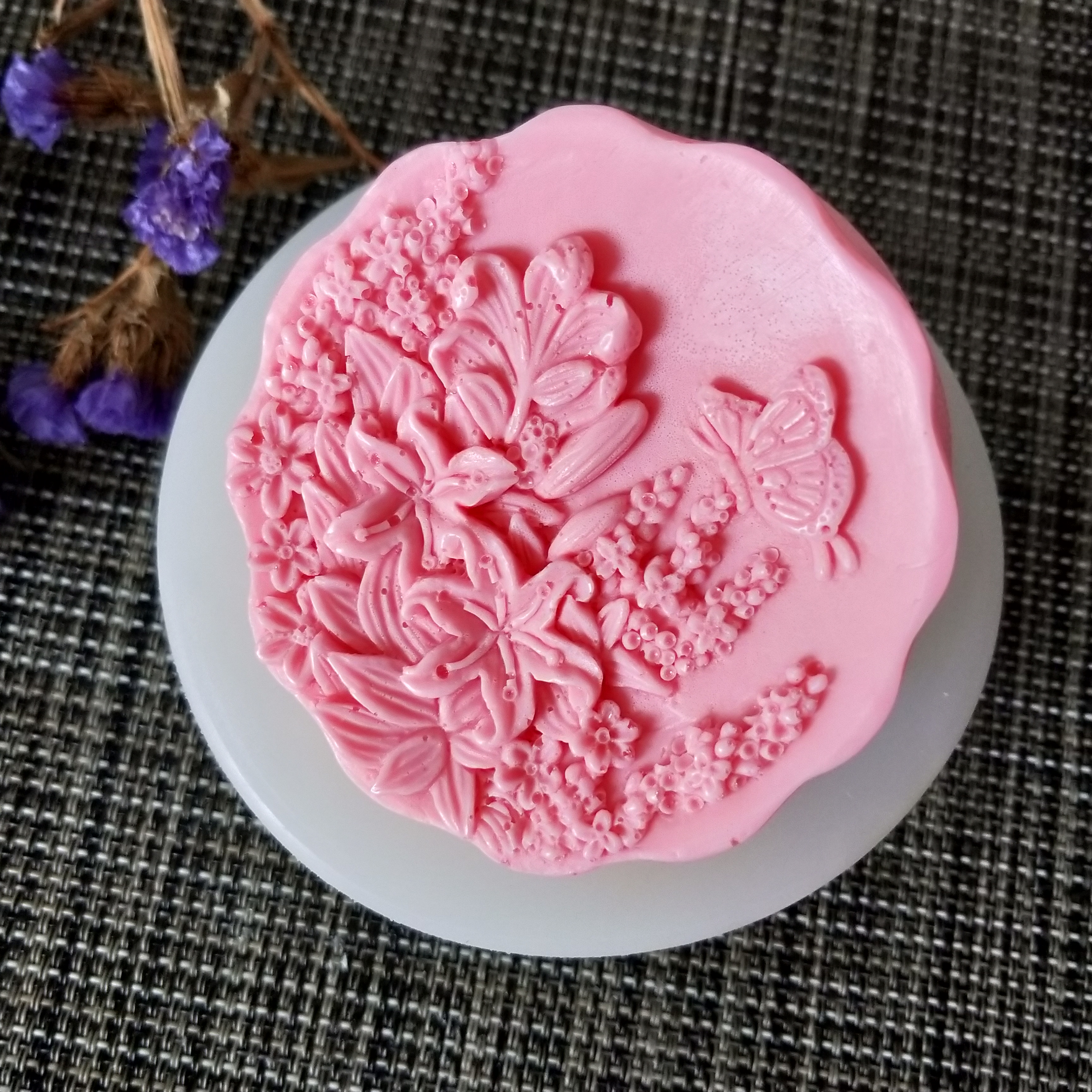 Butterfly Silicone Cake Decoration Mold Soap Candle Resin Fondant Chocolate Mold