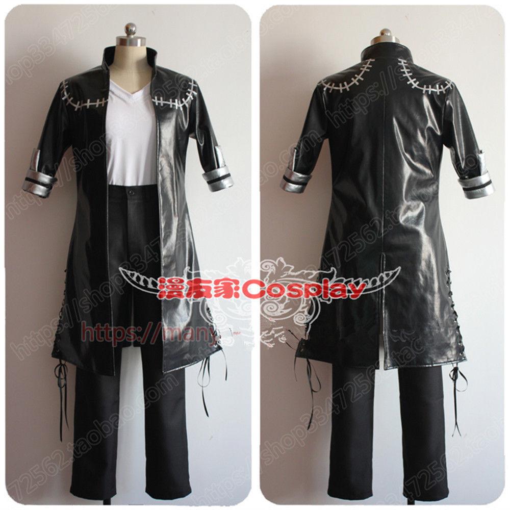 My Hero Academia Boku No 3rd Season DABI Outfit Cosplay Costume Full Set coat pant New