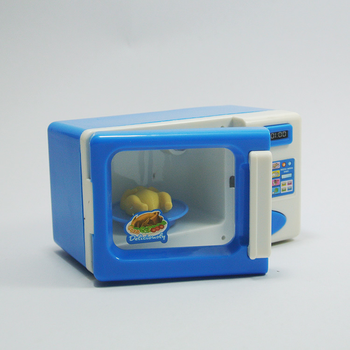 Play House Toy Microwave Oven Kitchen Toy Children Kid Mini Cute Pretend Role Play Toy Educational for Children Role Playing Hot mini simulation kid cute microwave oven pretend role play toy educational for children role playing kitchen toys playing house