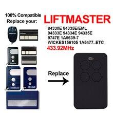Controle remoto câmera de garagem, câmera liftmaster 94335e 94330e 94334e 1a5639 7 liftmaster abridor de porta de garagem