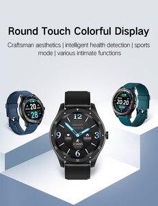 Image 5 - SENBONO كامل اللمس S6 ساعة ذكية IP67 مقاوم للماء الذكور معدل ضربات القلب ضغط الدم رصد Smartwatch سوار لياقة بدنية