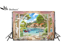 Beebuzz Photo Background Boating, Tourist Scenery Backdrop