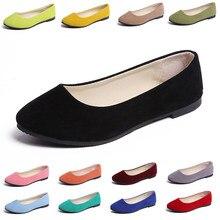 Plus Size 35-43 Women Flats Slip on Flat