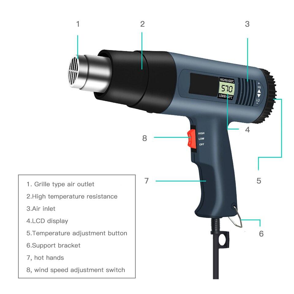 700w Plastic Welding Gun Thermoregulation Heat Gun Plastic Welding Gun For Car Business Industrial Plastic Welders Sealers Alberdi Com Mx