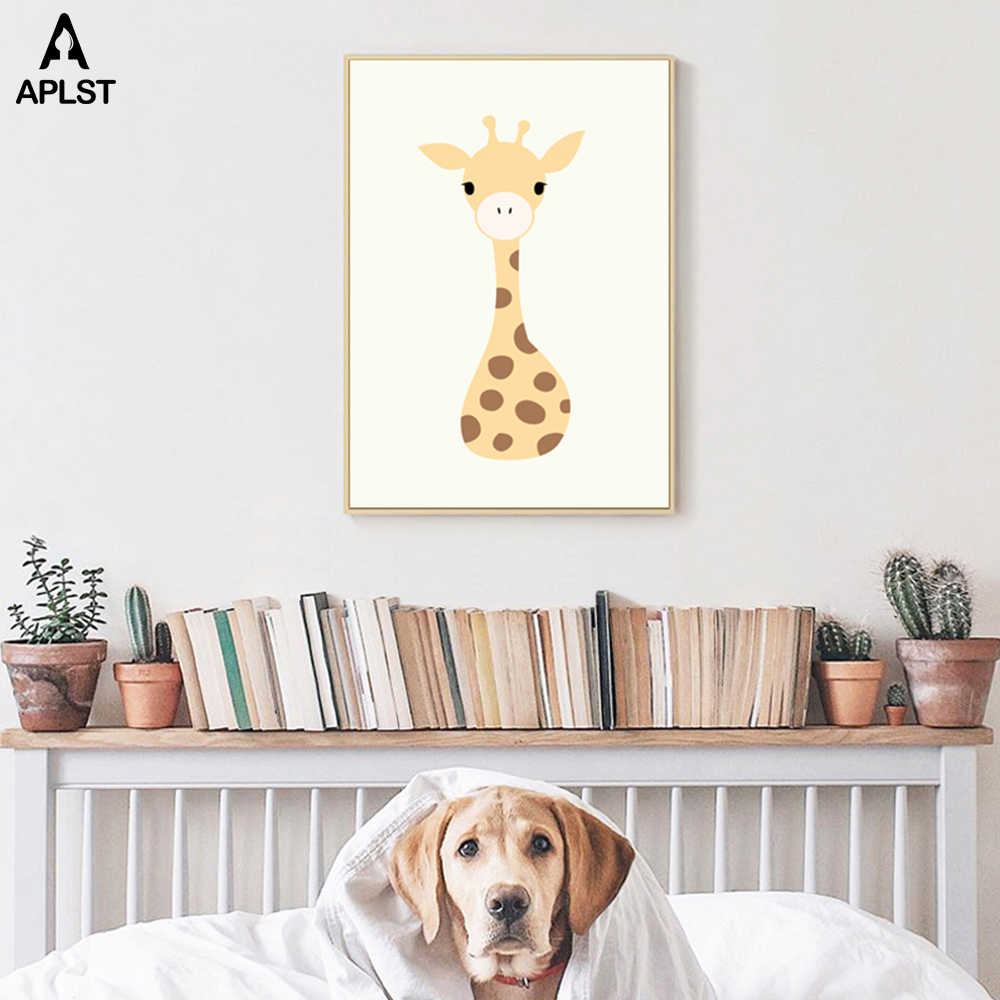 Elephant Artwork Poster Set of 3 Prints Giraffe with Butterfly Poster Rhino with Bird Dictionary Art Print Funny Animal Wall Art