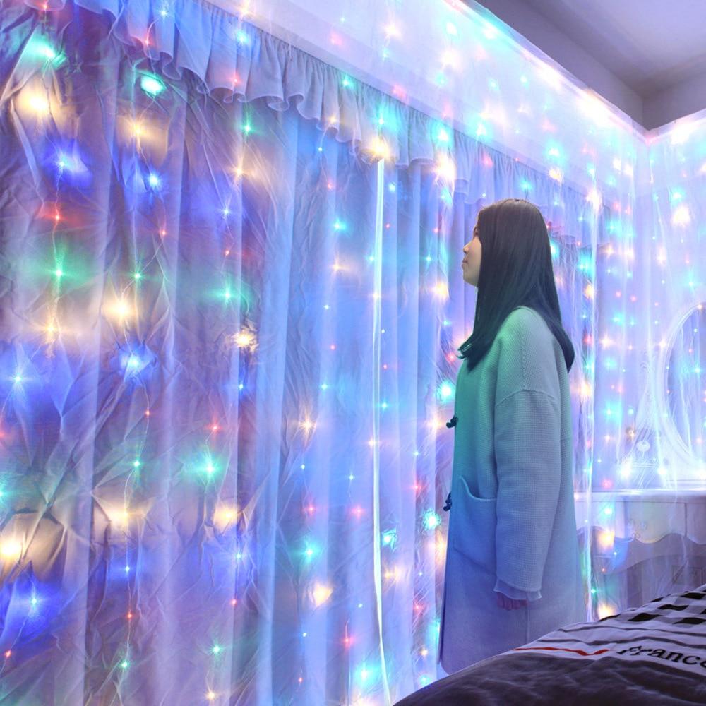 Decorațiuni de Crăciun pentru casă 3m 100/200/300 bliț cu LED - Produse pentru sărbători și petreceri - Fotografie 2