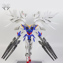 Robot, modèle INSTOCK, CLUB des bandes dessinées, style fixe cœur, wing gundam zero ew MG 1/100, assemblage daction, jouet