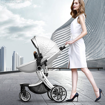 Baby Stroller High Landscape Carriage 2019 New 2 in 1 Infant Travel Pram