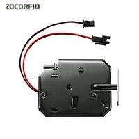 Novo pequeno bloqueio eletrônico dc12v armário de controle elétrico bloqueio arquivo armário fechadura da porta do guarda-roupa com feedback