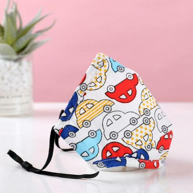 Children face Mouth Mask With Breath Design Replaceable Filter Anti Dust Mouth Mask PM2.5 Kids Face Mask 2