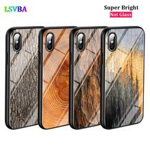Black Cover Texture Wood for iPhone X XR XS Max for iPhone 8 7 6 6S Plus 5S 5 SE Super Bright Glossy Phone Case black cover japanese samurai for iphone x xr xs max for iphone 8 7 6 6s plus 5s 5 se super bright glossy phone case