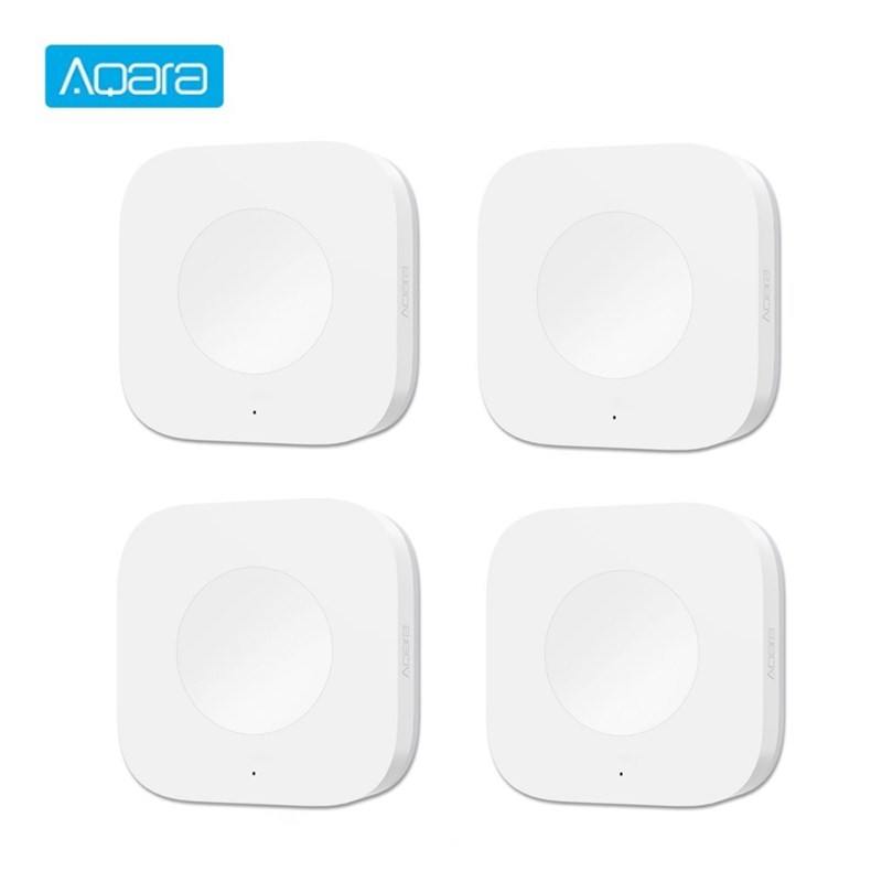 Aqara Smart Wireless Switch Smart Switches Intelligent Home Application Remote Control ZigBee Wifi Connection For Doorbell