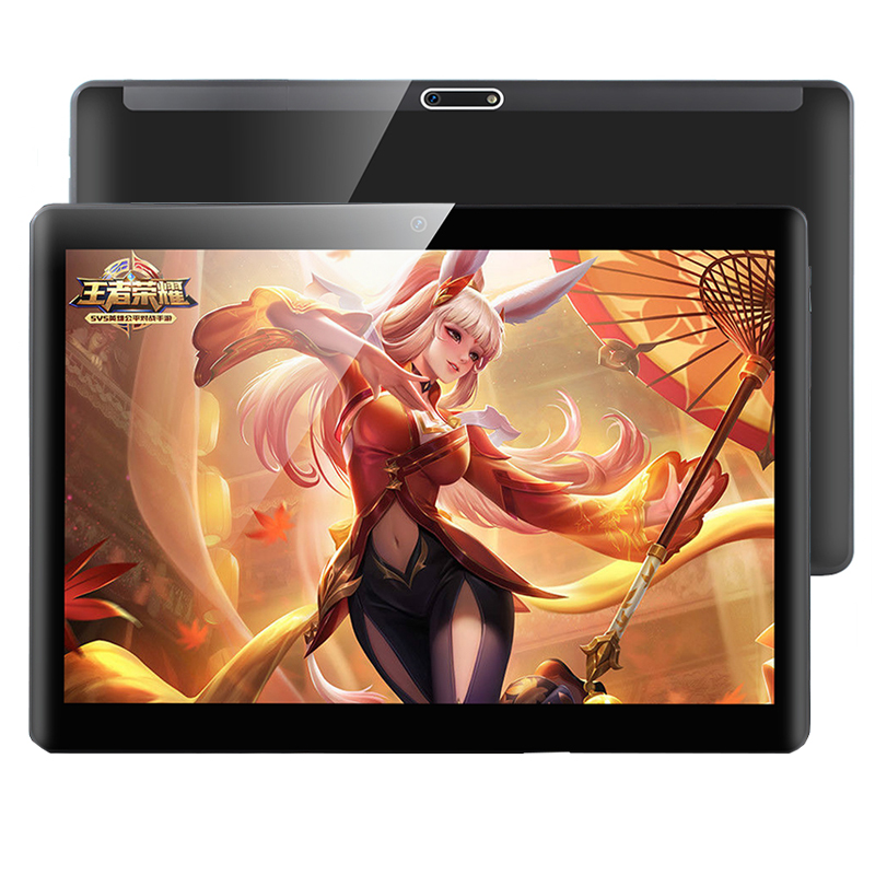 NEW 10 Inch Android Tablet With SIM Card Slot Unlocked  Octa Core 6GB RAM128GB ROM GSM Phablet Tablets With WiFi GPS Bluetooth