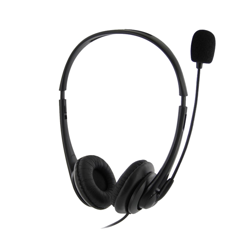 USB Telephone/Computer Headset with Microphone Noise Cancelling and Volume Controls for Computer Laptop PC