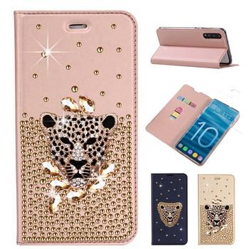 Sunjolly Diamond Case for Xiaomi Redmi Note 8T 8 Pro 7 6 5 4 Pro 4X 8A 5 Plus 4X K20 Pro S2 7A 6A Flip Rhinestone Case Cover